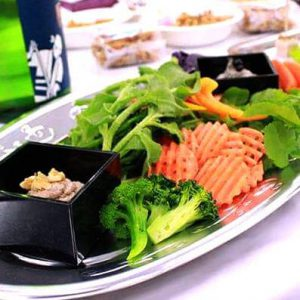 県産野菜&ディップソース